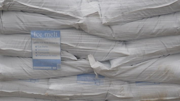 De-Icing Salt Pallet